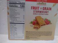 Fruit & Grain Bar - Strawberry - Ingredients - en