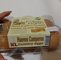 Huevos de gallinas camperas - Product