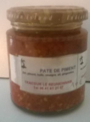pate de piment - Produit - fr