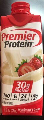 Premier protein strawberries and cream - Product