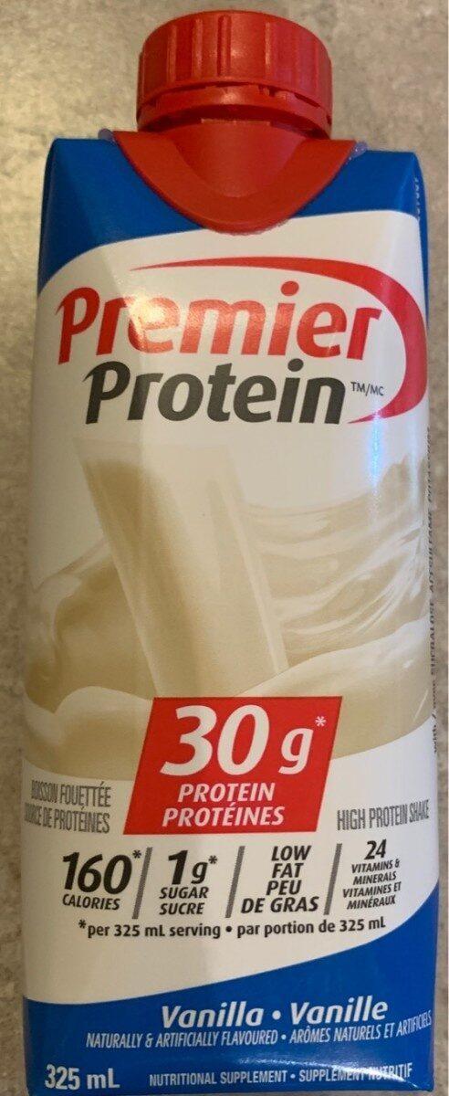 Premier Protein Vanilla - Produit - fr