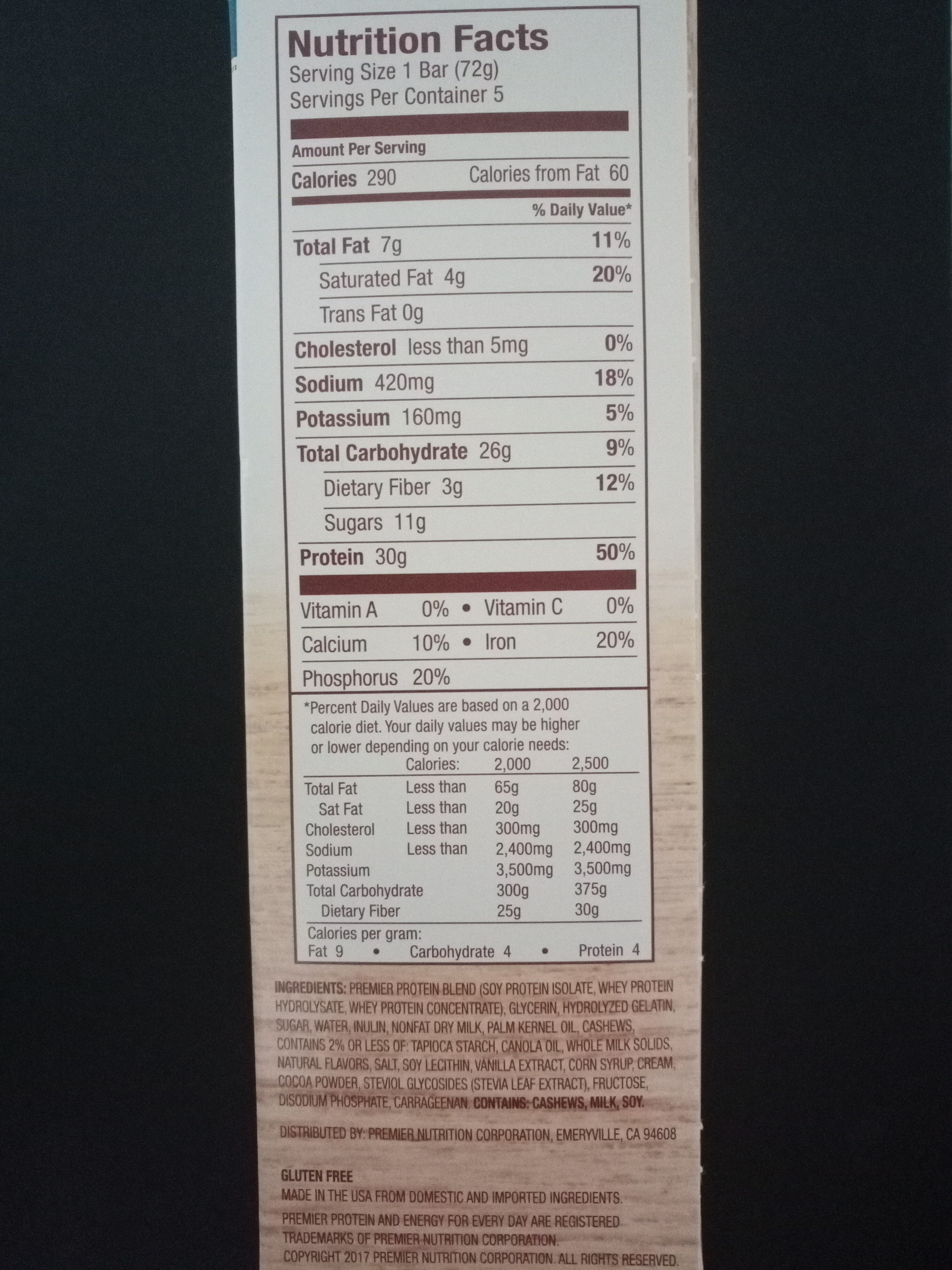 Protein bars - Product - en