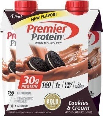 Cookies & Cream High Protein Shake - Product - en