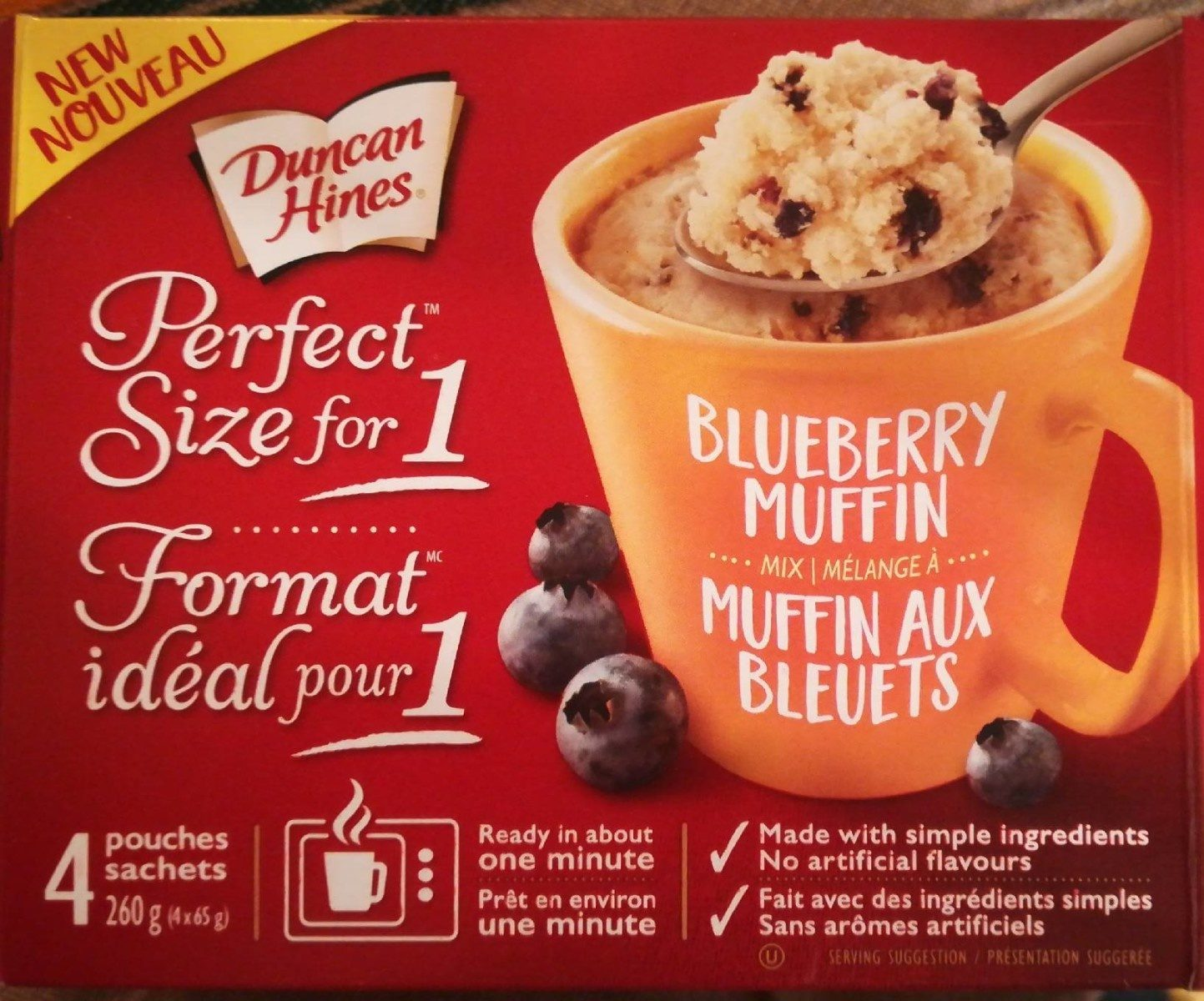 Blueberry muffin mix - Product