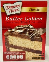 Butter golden cake mix, butter golden - Producto - es