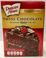 Harina preparada para pastel sabor a chocolate suizo - Producto - es
