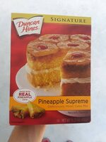 Signature deliciously moist cake mix - Ingredientes - es