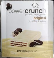 Protein Genius, Original Protein Energy Bar, Cookies & Creme - Product