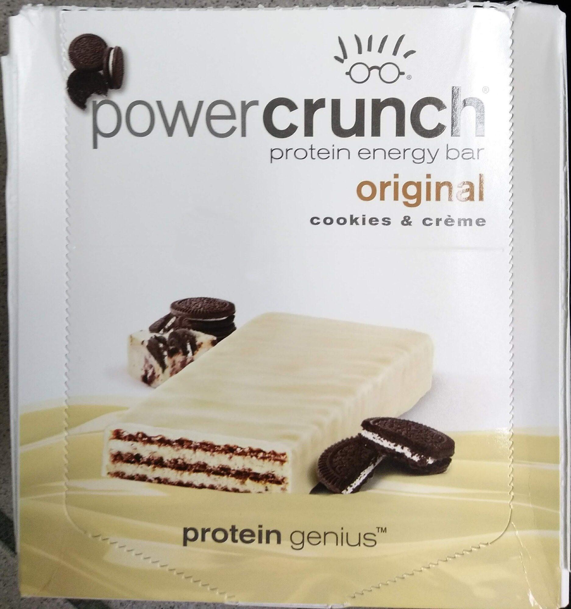 Original cookies & creme protein energy bar - Product - en