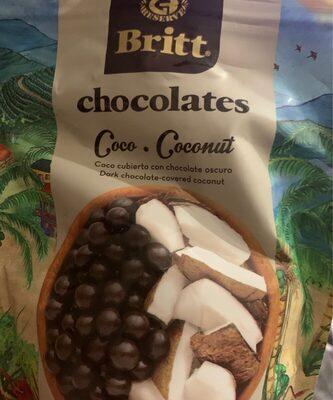 Britt Coco Con Chocolate Oscuro - Product - fr