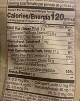 Britt Coco Con Chocolate Oscuro - Nutrition facts - fr