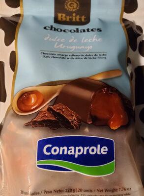 chocolates rellenos de dulce de leche - Product - es