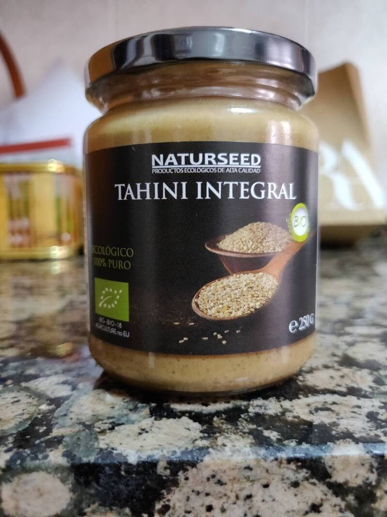 Tahini integral - Ingredientes