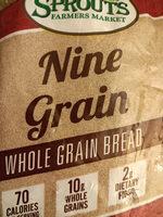 Sprouts Nine Grain Bread - Product