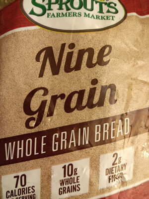 Sprouts Nine Grain Bread - Product
