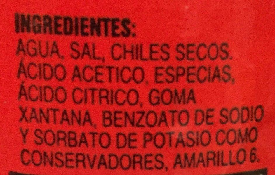 Doña Cuca - Ingrédients
