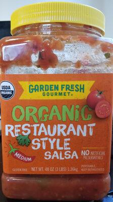 Organic Restaurant Style Salsa - Product - en