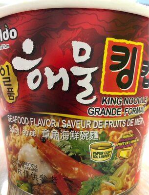 Paldo, king noodle, seafood - Product - en