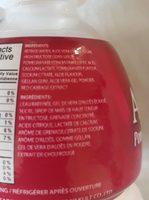 Aloe saveur de grenade - Ingredients