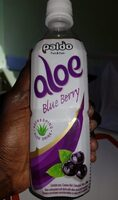 Aloe blue berry - Nutrition facts