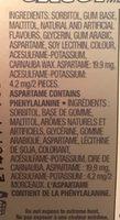 Gum - Ingredients - en