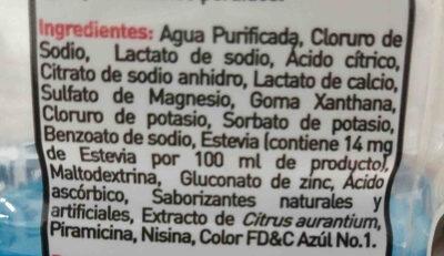 suerox - Ingredients - es