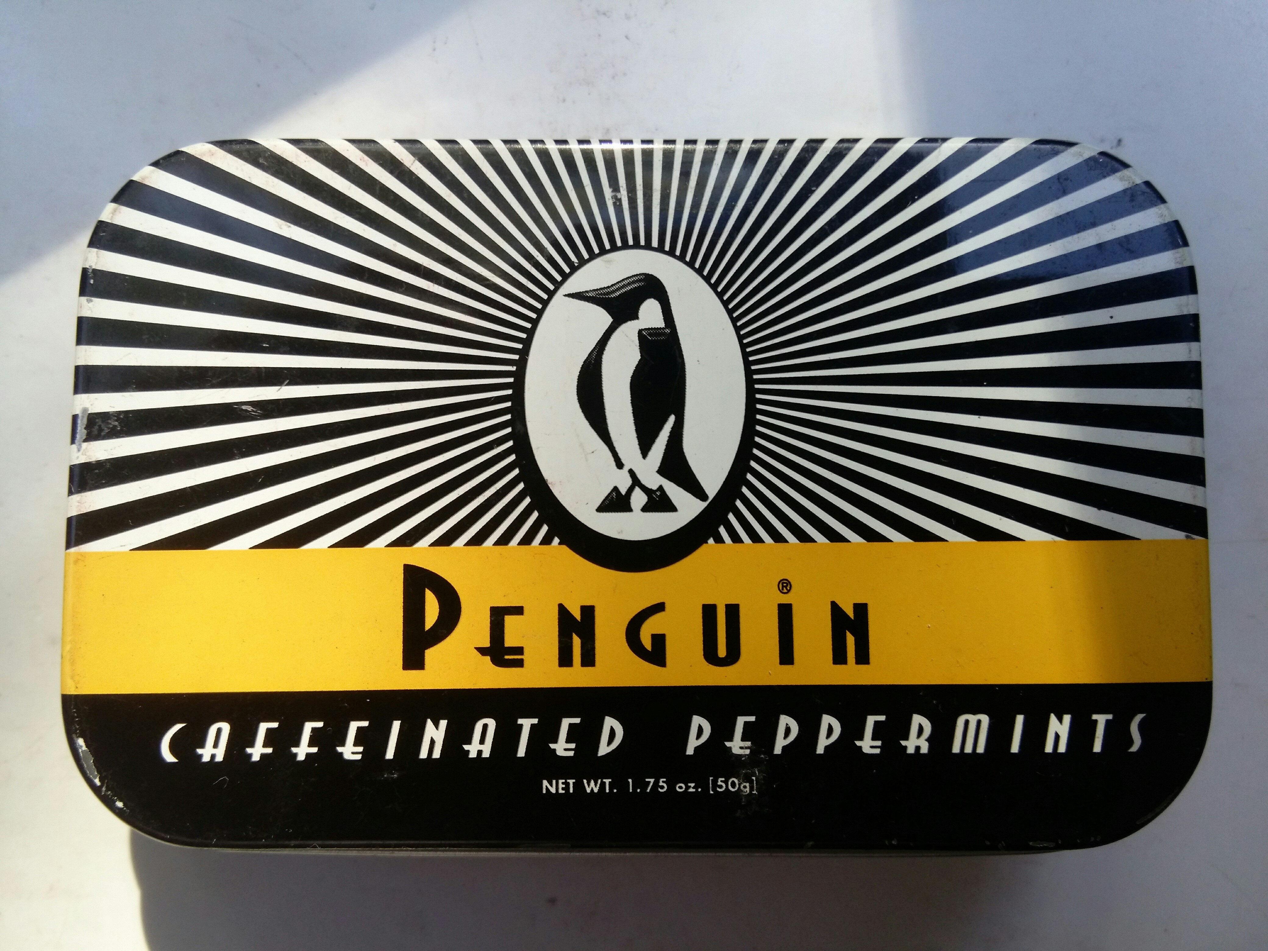Penguin Caffeinated Mints - Product - en