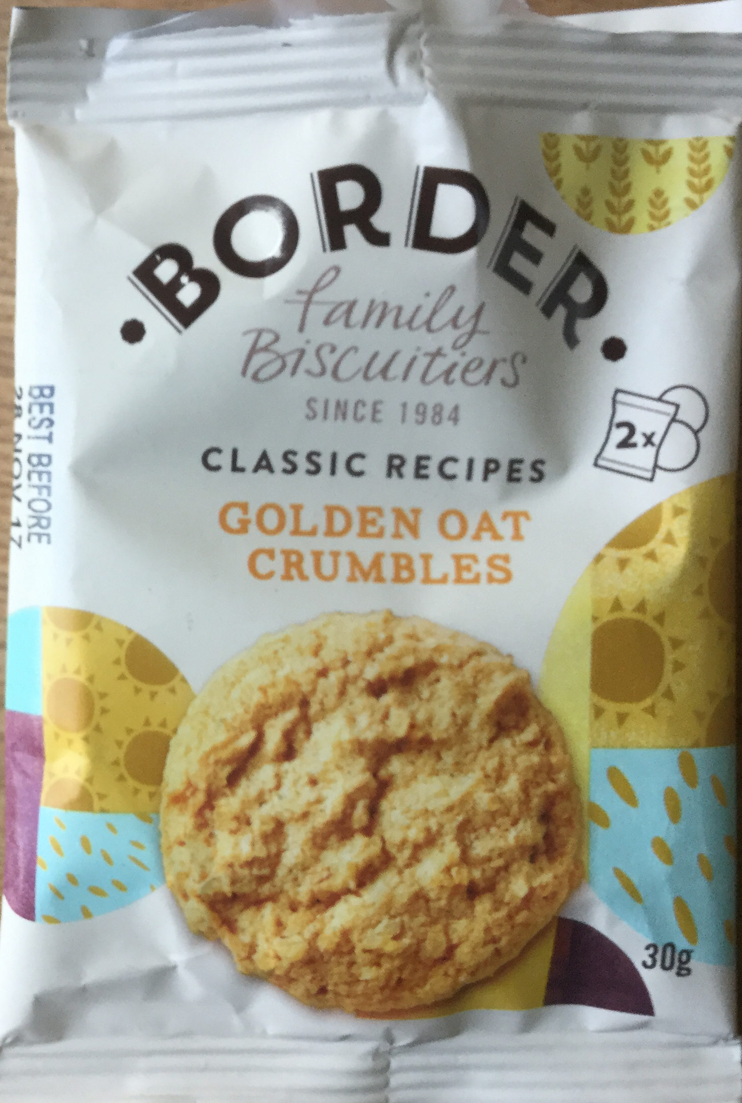 Golden oat crumbles - Product - en