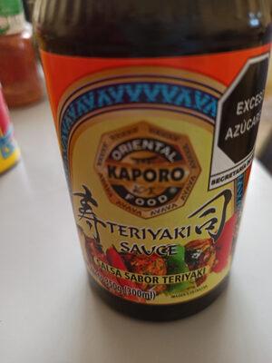 Teriyaki Sauce - Producto - es