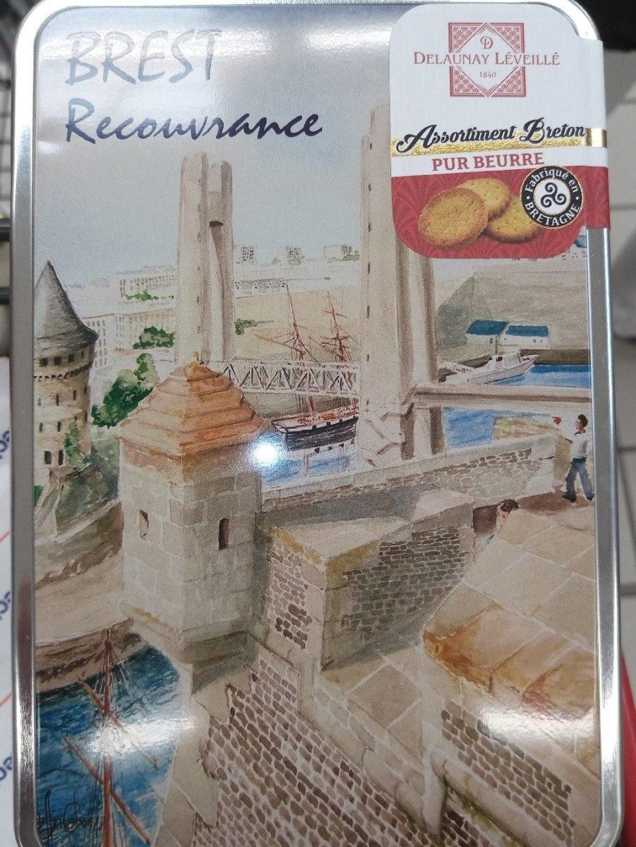 Assortiment Breton Brest Recouvrance - Product - fr