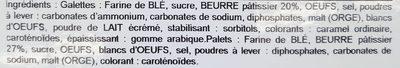 Assortiment Breton Brest Recouvrance - Ingrediënten