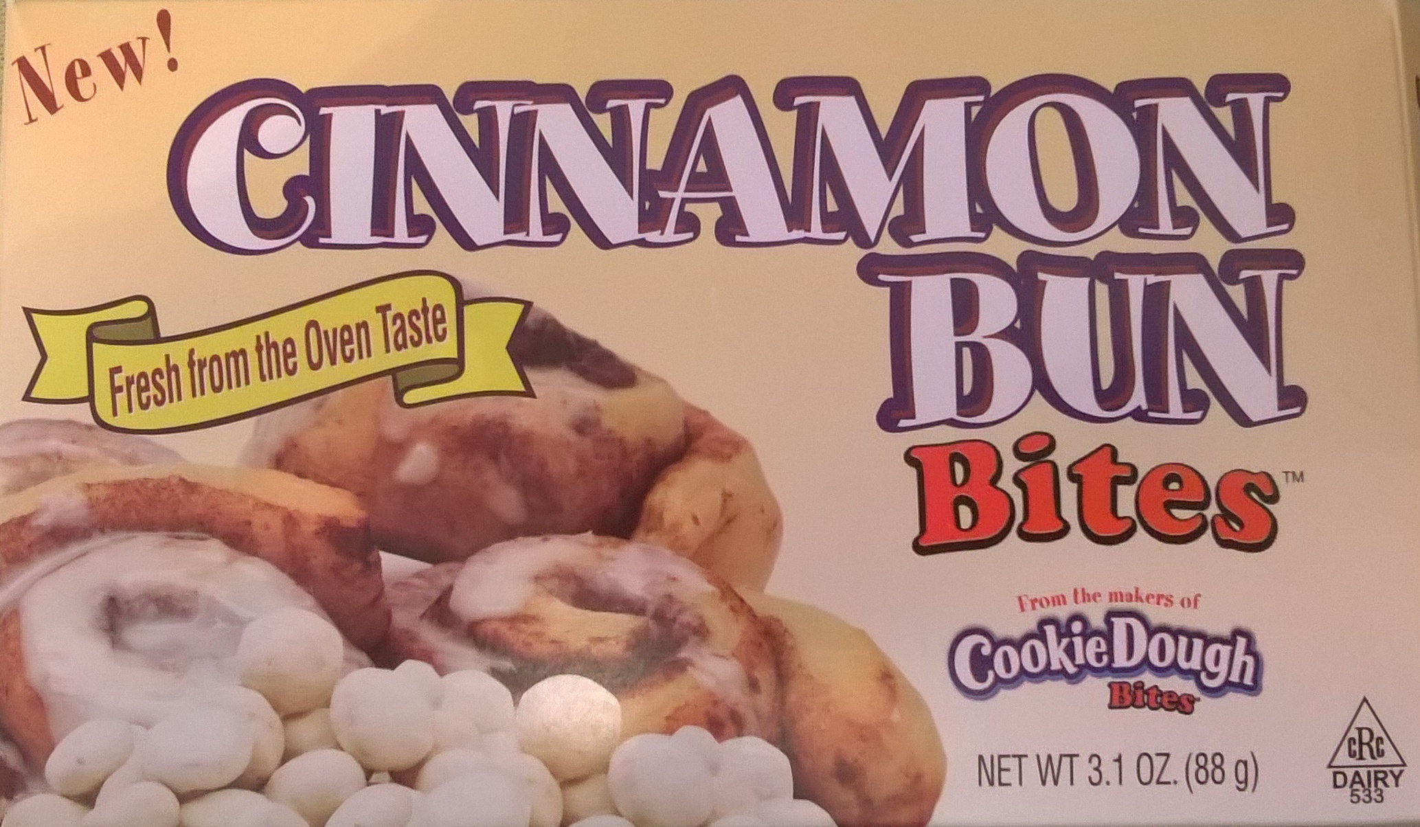 Cinnamon Bun Bites - Product - en