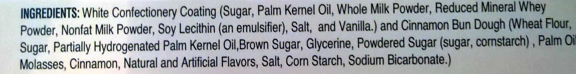 Cinnamon Bun Bites - Ingredients - en