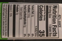 Appley ever after - Nutrition facts