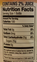 Half & Half - Nutrition facts