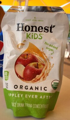 Honest Kids Organic Juice Drink, Appley Ever After - Product - en