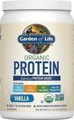 Vanilla Organic Delicious Protein Shake - Product - en