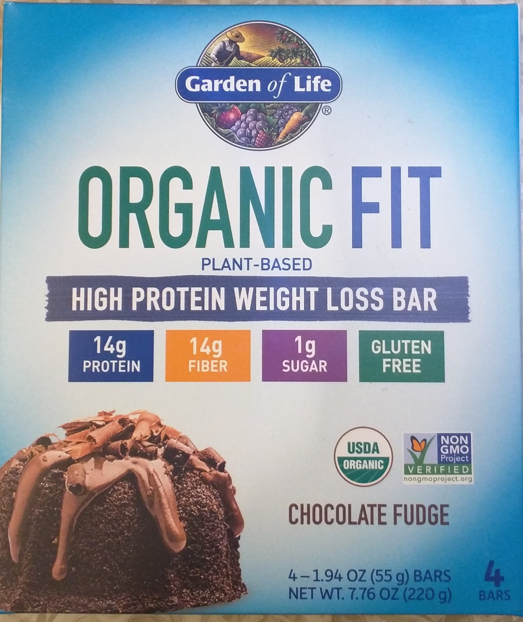 Plant-based high protein weight loss bar - Product - en