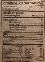 Tostadas horneadas de maiz - Nutrition facts - en