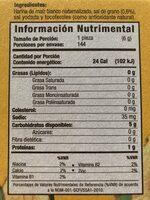 Salmas - Nutrition facts - en