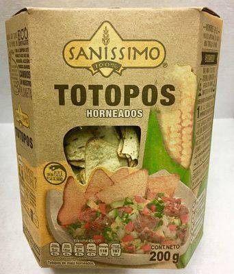 TOTOPOS HORNEADOS SANÍSSIMO - Product - es