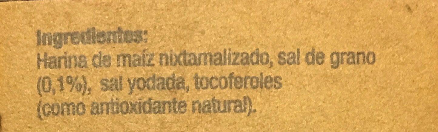 TOTOPOS HORNEADOS SANÍSSIMO - Ingrediënten - es