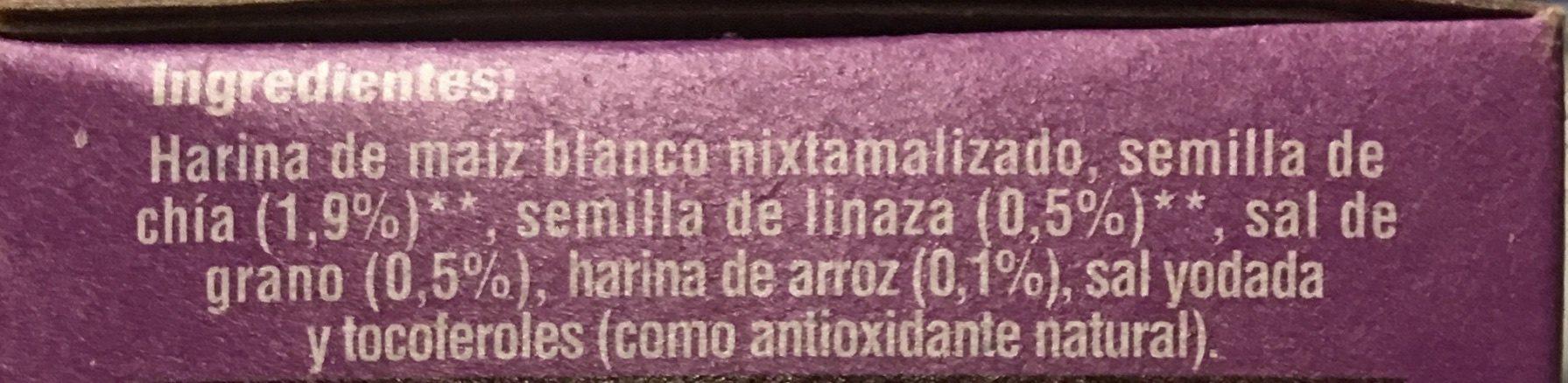 Salmas - Ingredients