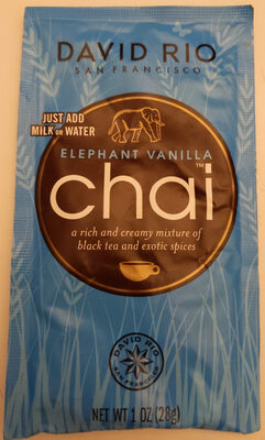 Elephant vanilla chai - Producte - en