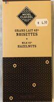 Tablette Chocolat Lait Et Noisettes - Product - fr