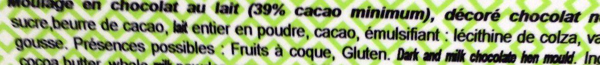 Poule en Choc' - Ingredients - fr