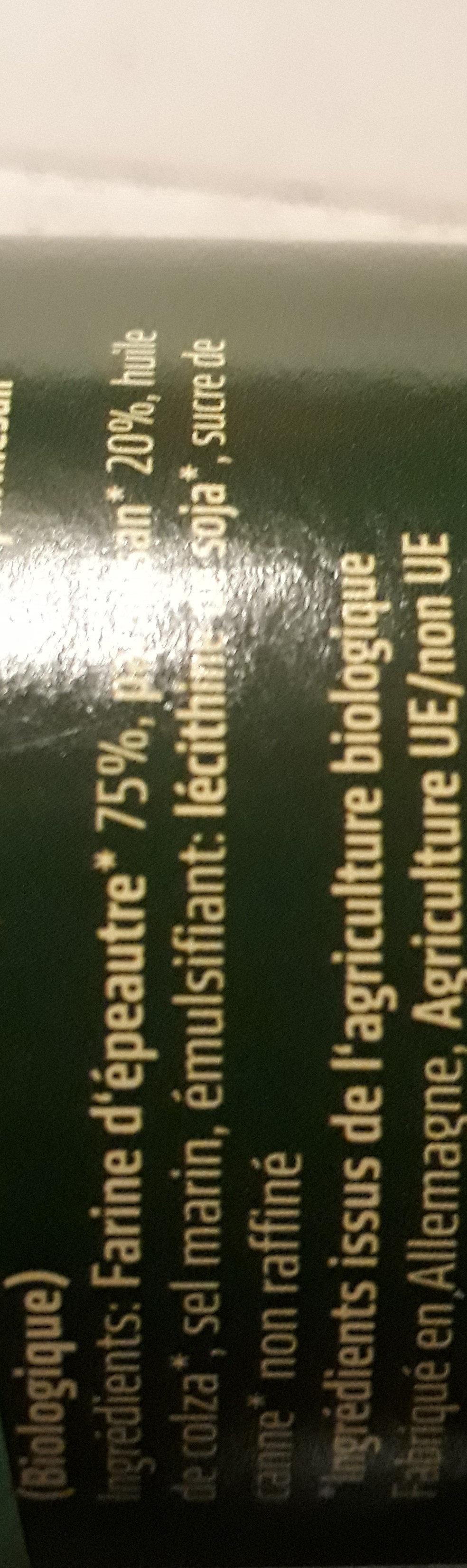 dinkels parmesan - Ingredients - fr