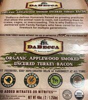Organic applewood smoked uncured turkey bacon - Product - en