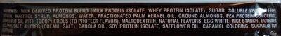 Barre protéinée amande cookie - Ingrédients