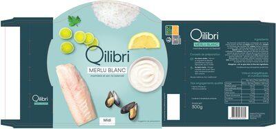 Merlu blanc marinière et son riz basmati - Product - fr